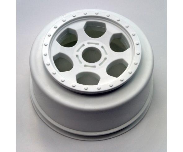 DE Racing Trinidad SC Wheel now in white, Hub Nutz for JConcepts & Pro-Line SC Wheels