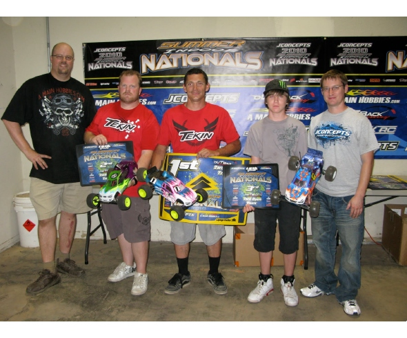 Tekin goes 1-2 in Open Truck at the Jconcepts Summer Nationals