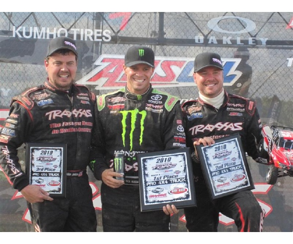 TORC Round 8: Traxxas Drivers Win All 3 Pro Classes and Sweep Pro 4X4