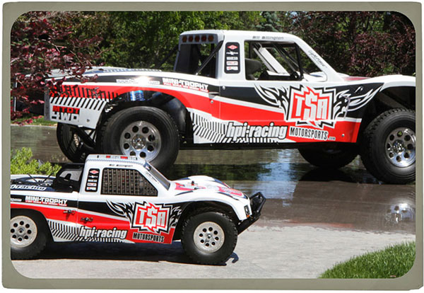 HPI Mini-Trophy Truck: Exclusive Interview With The Designer