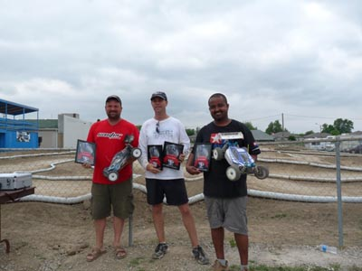 Kevin Taylor takes 3rd in Electric 1/8 Buggy in 2010 Ontario RC Pro Series