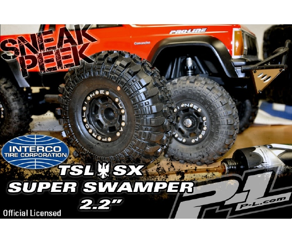 Pro-Line Interco 2.2″ TSL SX Super Swamper Sneak Peek