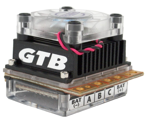 Novak GTB Racing Brushless/Brush ESC gets new look and lower price