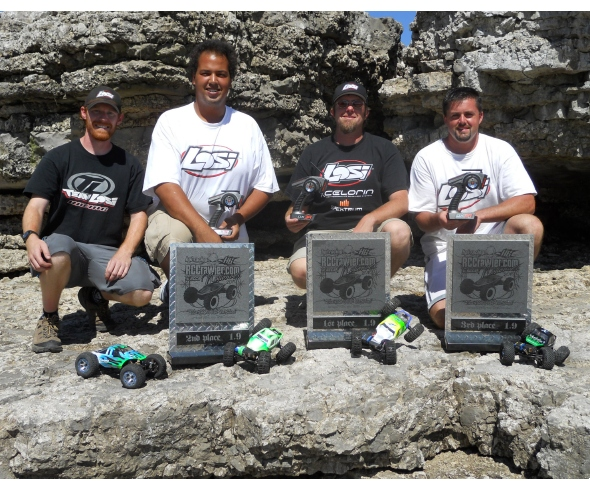 Team Losi Racing sweeps the podium at the 2010 Rock Crawling Nationals