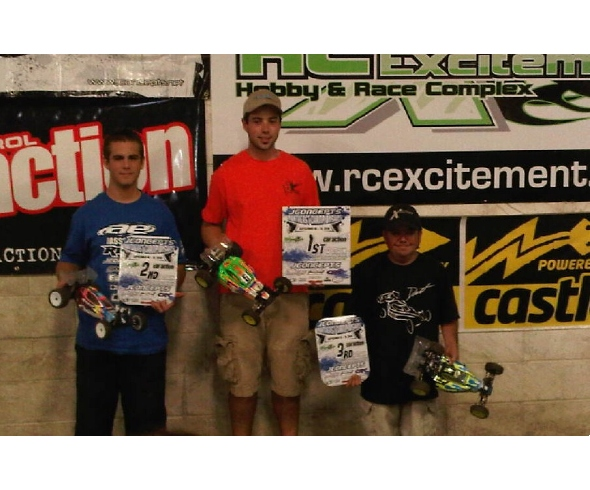 Terkin and Johnny LoGiudice win at the JConcepts Northeast Championships
