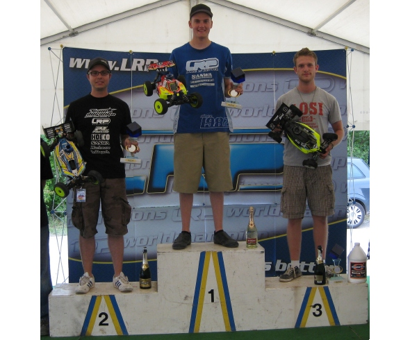 JConcepts wins Round 1 of German 1/8 Off Road Buggy Nationals