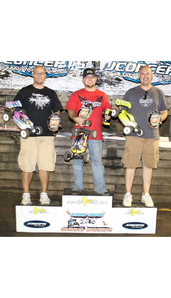 Team Tekin driver Ben Burtle wins at 2010 Hobby Haven Shootout