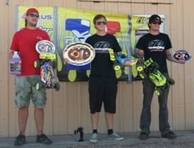 Losi Finishes 1-2-3 at RC Pro Series Mountain Division