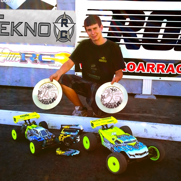 Austin Blair and Tekno RC Put it on the Podium at 2010 ROAR 1/8th Electric Nationals