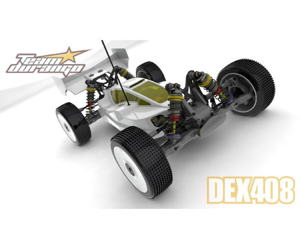 Team Durango DEX408 1/8 Electric Buggy CAD Images