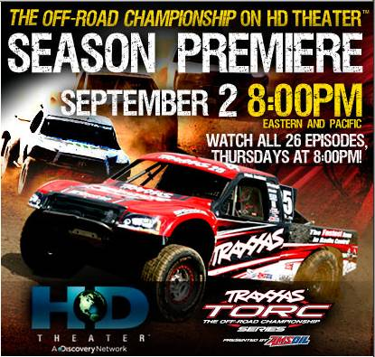 Traxxas TORC on TV