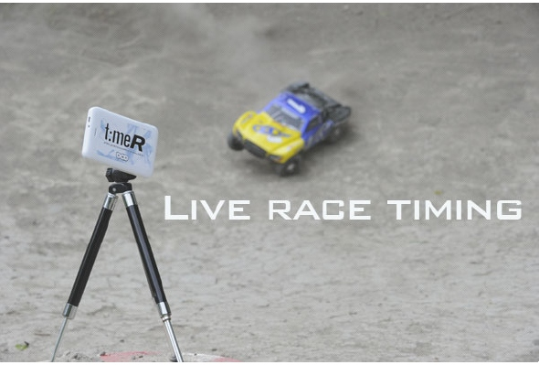 DirtChamp Design Portable Lap Timing System