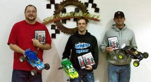 Chris Jarosz, Kyle Skidmore, RC Pro Southern Indoor Nationals, photo 2, winners