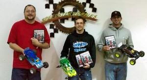 Chris Jarosz, Kyle Skidmore, RC Pro Southern Indoor Nationals, photo 2, winners