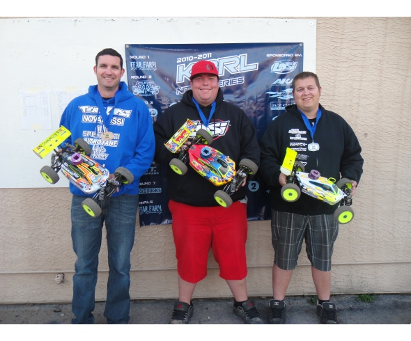 Team Losi Racing wins round 4 of the KBRL Nitro Series