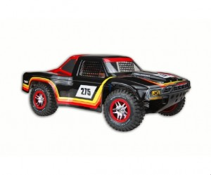 JConcepts Gear, Ford 1979 Ford Ranger F-250, Raptor SVT SCT-R (O.S.F.M.) bodies, rcca, radio control, rc car action, photo 4, black, red, yellow