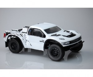 JConcepts Gear, Ford 1979 Ford Ranger F-250, Raptor SVT SCT-R (O.S.F.M.) bodies, rcca, radio control, rc car action, photo 5, white front