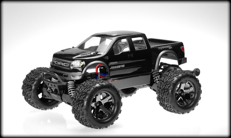 JConcepts Traxxas Stampede 4x4 Ford Raptor Super Crew Body