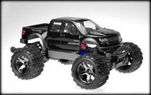 JConcepts, Traxxas, Stampede 4x4, Ford Raptor, Super Crew Body, rcca, radio control, rc car action, side view, photo 5, angle