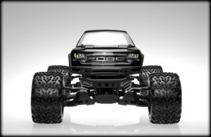 JConcepts, Traxxas, Stampede 4x4, Ford Raptor, Super Crew Body, rcca, radio control, rc car action, front view, photo 3