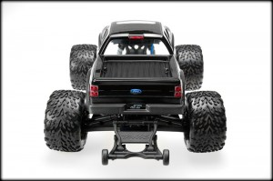 JConcepts, Traxxas, Stampede 4x4, Ford Raptor, Super Crew Body, rcca, radio control, rc car action, back view, photo 4