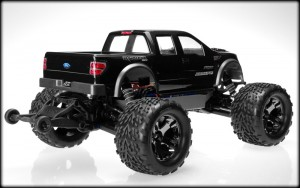 JConcepts, Traxxas, Stampede 4x4, Ford Raptor, Super Crew Body, rcca, radio control, rc car action, side view, angle, photo 2