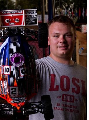 Team Losi Racing's Martin Bayer 2010 1/8 Buggy Czech Republic National Champion