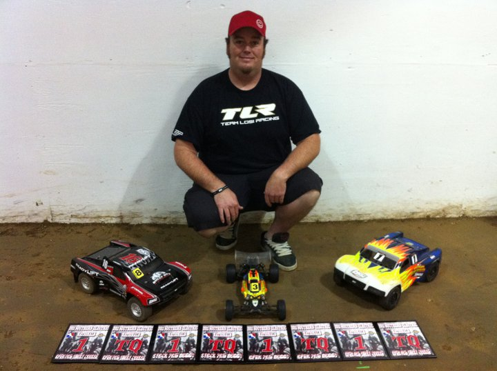 Team Losi Racing Wins Big at Southern Indoor Nationals