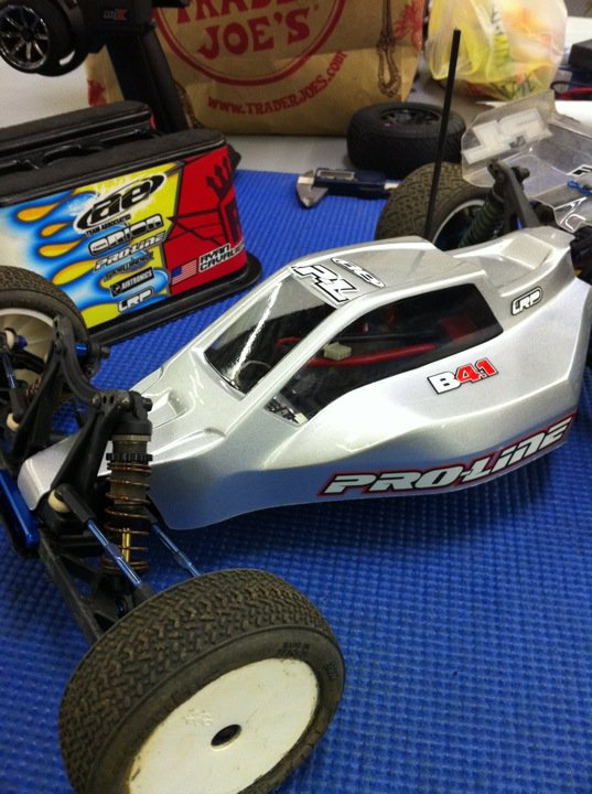 Sneak Peak At Pro-Line's V2 Bulldog Body For The Team Associated B4.1