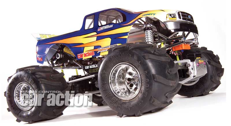 Is there a future for solid axle monster trucks?