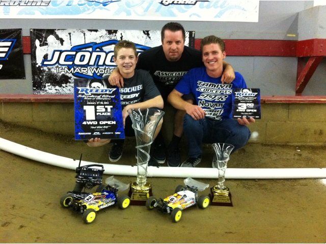 Tanner Denney And JConcepts Take Reedy Race 4WD Open Class