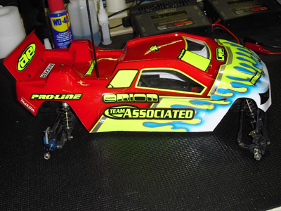 Sneak Peak at Pro-Line's Bulldog body for the Team Associated T4.1