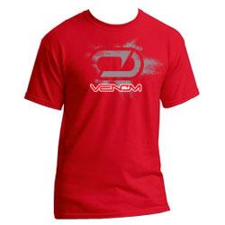 venom logo tshirt, venom, rcca, radio control, rccar action, photo 3, red