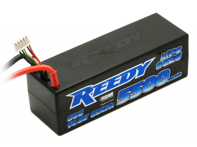 Reedy 5500mAh 60C 14.8V Competition LiPo Battery