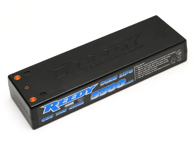 Power Up With Reedy's 60C Competition LiPo Batteries