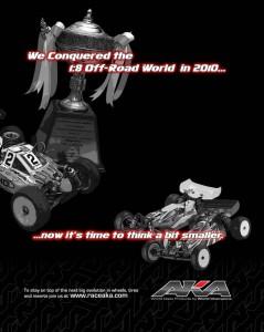 aka, 1/10 scale off road, travis amezcua, 2011 rc race season, rcca, radio control, rc car action