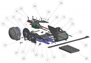 baja conversion kit, castle creations, rcca, radio control, rc car action
