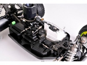 TQ Racing, nitro and electric versions of SX8 Evo, rcca, radio control, rc car action, photo 4, motor, engine