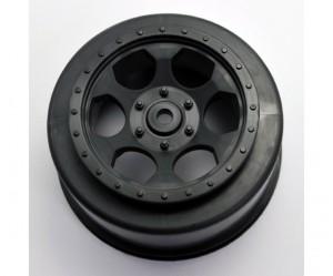 DE Racing, Trinidad Wheels, Team Losi Racing, TLR, XXX-SCT, rcca, rc car action, radio control, front, tire view, photo 3