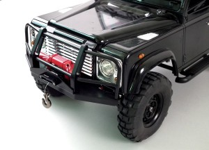 RC4WD Viking 1/10 Aluminum Winch Fairlead, truck, photo 2, black, rc car action, rcca, radio control