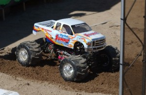solid axle, monster trucks, light blue, photo 2, rcca, rc car action, radio control