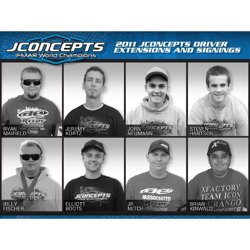 2011 JConcepts Driver Annoucements