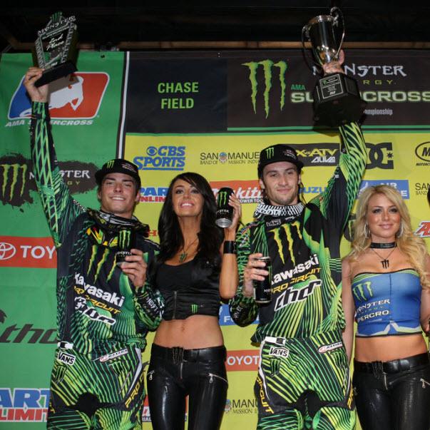 Traxxas Sponsored Monster Energy Supercross Riders Win Again