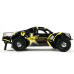 Losi 1/10 Rockstar XXX-SCT RTR, rockstar energy drink, lipo, team losi racing, TLR, rcca, radio control, rc car action