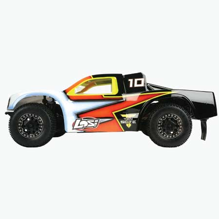 *Losi 1/10 TEN-SCTE ARR 4×4 Short Course Truck Rolling Chassis