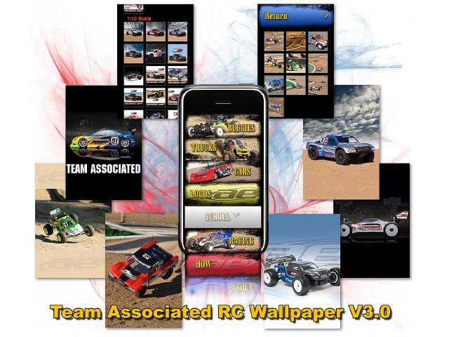 Team Associated RC Wallpaper V3.0 iPhone App