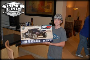 jconcepts, 2011 super cup winners, rcca, radio control, rc car action, first winner, boy, photo 2, team associated prize