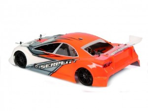 Serpent 733 Evo 1/10, 4wd Nitro Car, rcca, radio control, rc car action, photo 4, orange