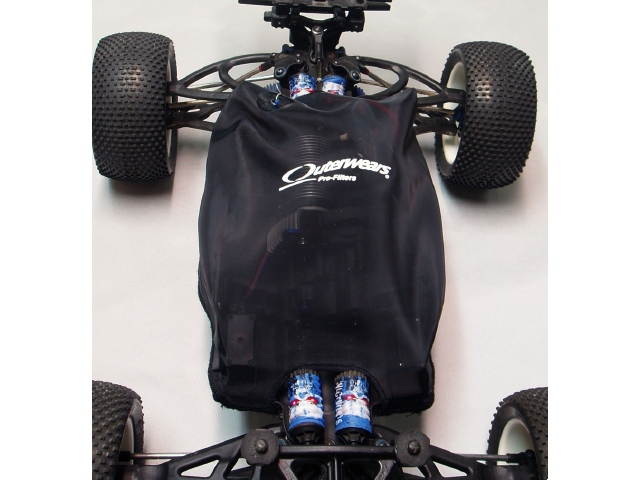 Outerwears Chassis Shroud For The Traxxas E-Revo And E-Revo Brushless