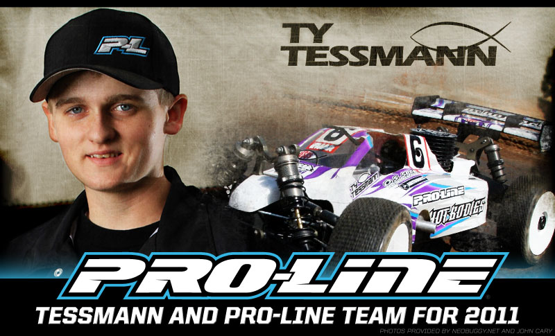 Ty Tessmann and Ryan Cavalieri Re-sign with Pro-Line